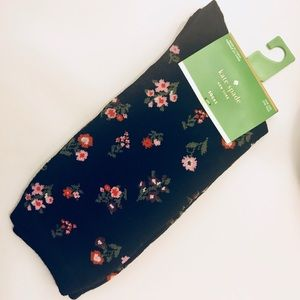 🌹NEW Kate Spade Crew Socks Black 🧦 ♠️